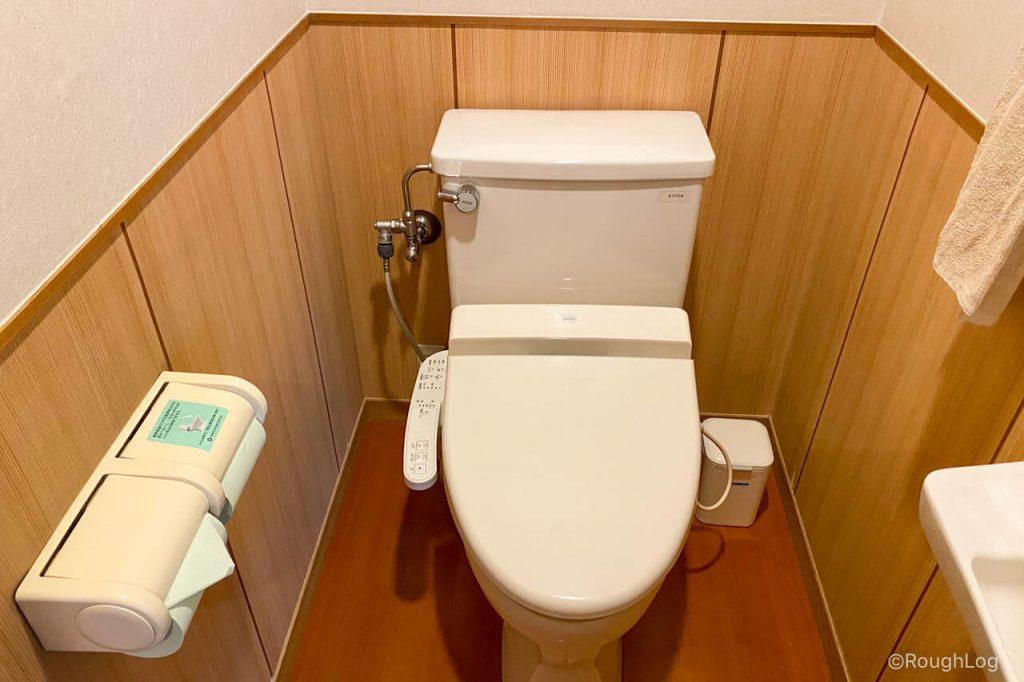 熱海後楽園ホテル タワー館のトイレ
