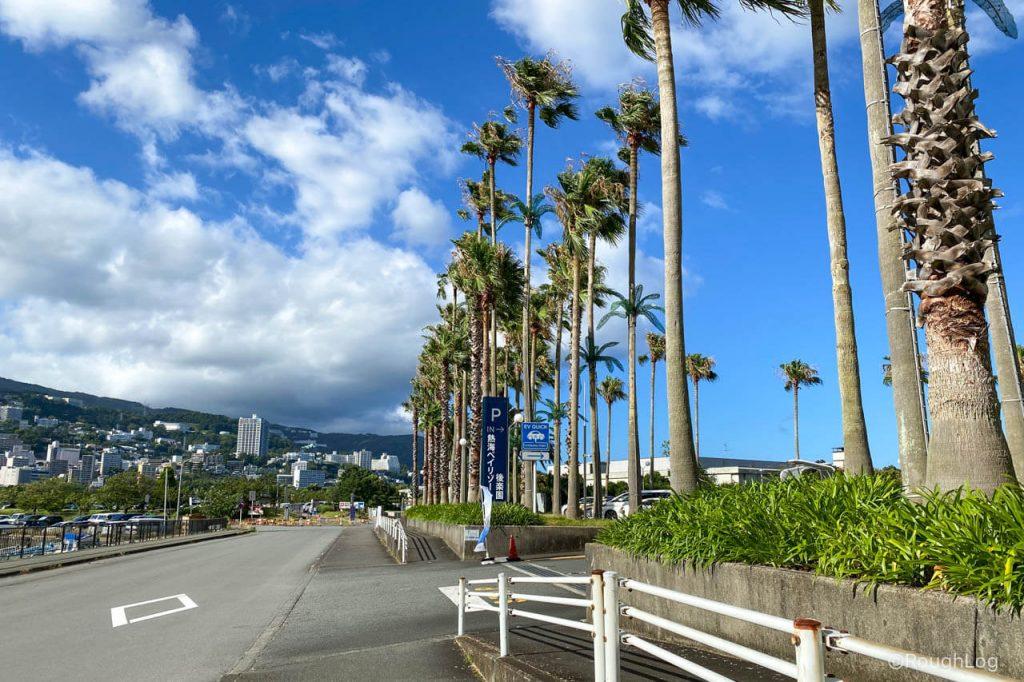 熱海ベイリゾート後楽園入り口