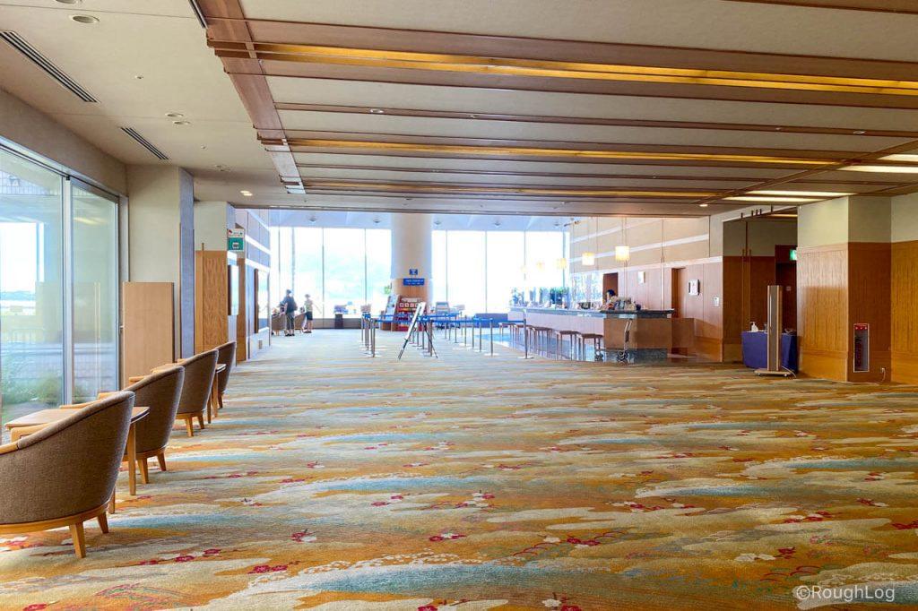 熱海後楽園ホテルのフロント・クローク