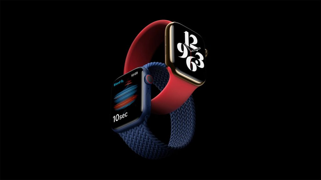 Apple Watch Series 6 で追加された新色ブルー