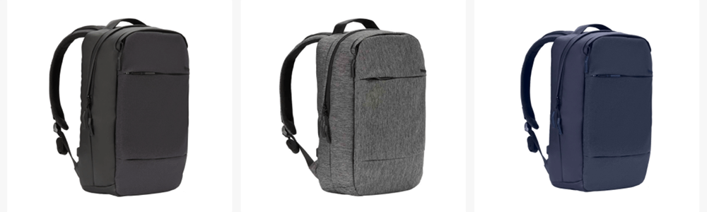 Incaseバックパック「City Dot Backpack」のカラーバリエーション