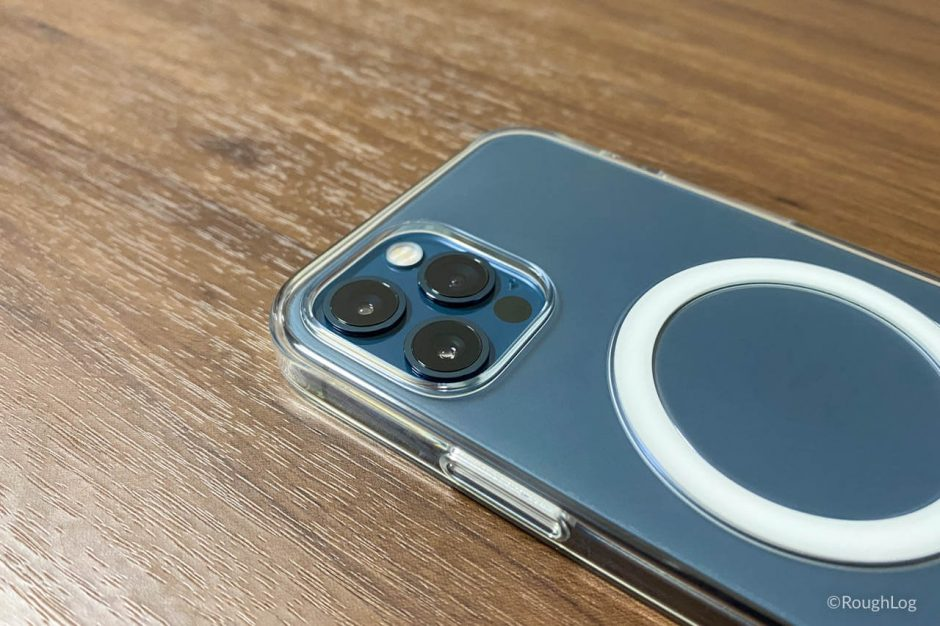 【レビュー】Apple純正、MagSafe対応iPhone 12 (Pro) クリアケース