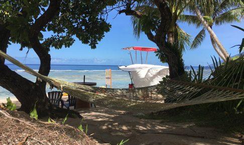 グアム旅行観光プラン!ココパームガーデンビーチで透き通った海を満喫しよう!