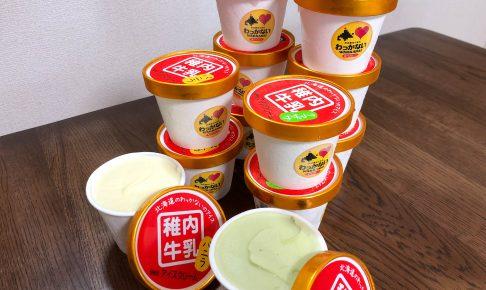 【ふるさと納税】「稚内牛乳アイスクリーム」は牛乳の甘さや稚内の特産物を活かしたアイス|北海道稚内市