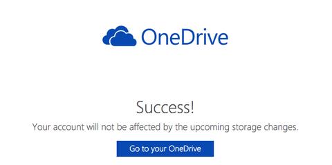 マイクロソフトの「ワンドライブ」を無料で利用中の方、容量削減回避の手続きはしましたか!?