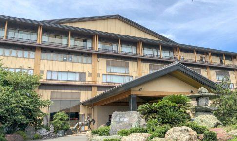 龍宮城スパホテル三日月に日帰り旅行。温泉・プール・バイキングをオーシャンビューで。