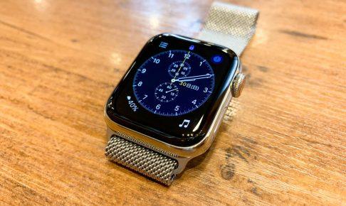 セルラーモデルを選んで大正解。Apple Watch 4ステンレススチールはオンオフ使いやすい美しさ。